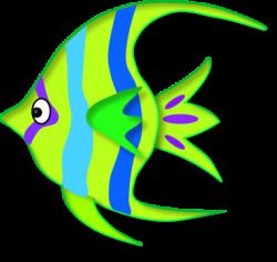 Angelfish clipart