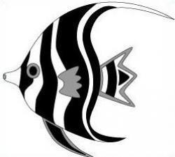 Marine Fish clipart angelfish