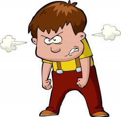 Amonday clipart angry