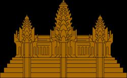 Angkor Wat clipart cambodia