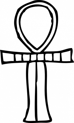 Ankh clipart black