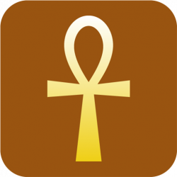 Ankh clipart gold