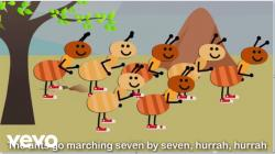 Ant clipart go marching