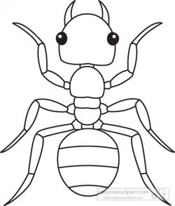 Ants clipart outline