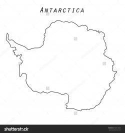 Antarctica clipart outline