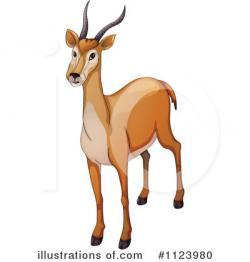 Gazelle clipart antelope