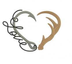 Hook clipart buck antler