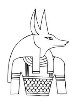 Anubis clipart ancient history