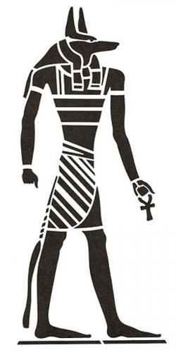 Anubis clipart egipt