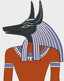 Anubis clipart headed