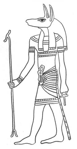 Anubis clipart the dead egypt