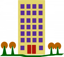 Apartment Complex clipart