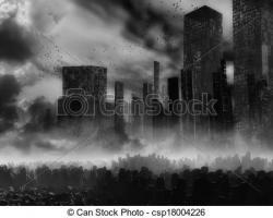 Gloomy clipart apocalypse