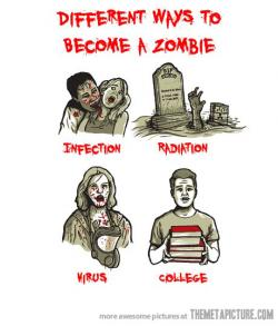 Apocalyptic clipart funny school