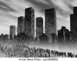 City clipart apocalypse