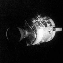 Apollo 13 clipart explosion