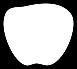 Marshmellow clipart single