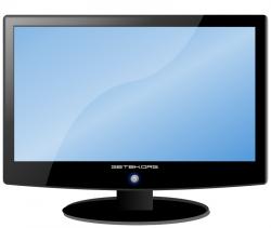 Screen clipart computer part
