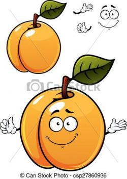 Apricot clipart cartoon