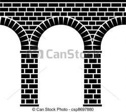 Aqueduct clipart archway