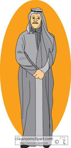 Arabian clipart arabic man