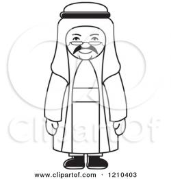 Arab clipart arab person