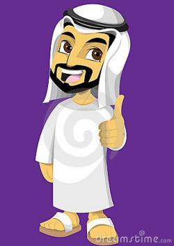 Arab clipart arab man