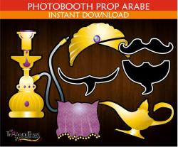 Arabien Nights clipart lampara