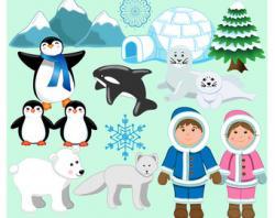 Eskimo clipart arctic