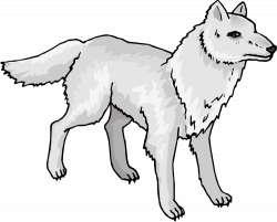Werewolf clipart friendly