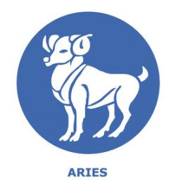 Horoscope clipart aries