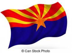 Arizona clipart Arizona Flag Clipart