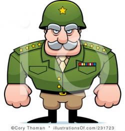 Cornol clipart military man