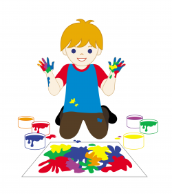 Elf clipart painting