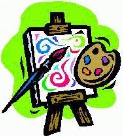 Exhibit clipart artwork