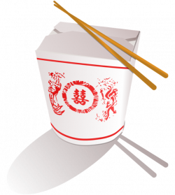 Asians clipart chinese takeout