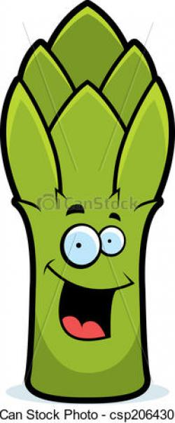 Asparagus clipart cartoon