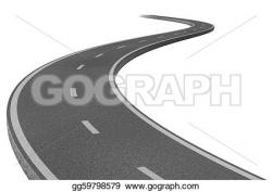 Asphalt clipart pathway