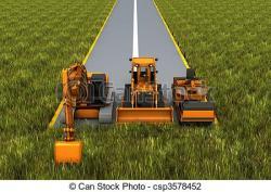 Asphalt clipart road repair