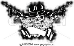Assault Rifle clipart gangster