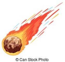 Comet clipart meteoroid