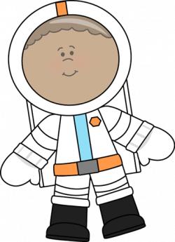 Small clipart astronaut