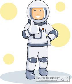 Spacesuit clipart spaceman