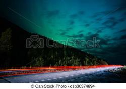 Aurora Borealis clipart alaska
