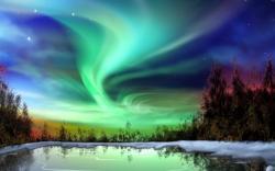 Aurora Borealis clipart aura