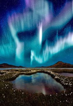 Aurora Borealis clipart natural phenomena
