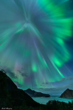 Aurora Borealis clipart norway