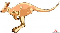 Wallaby clipart kangaro