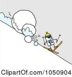 Avalanche clipart