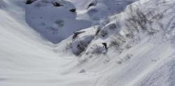 Avalanche clipart snow pile